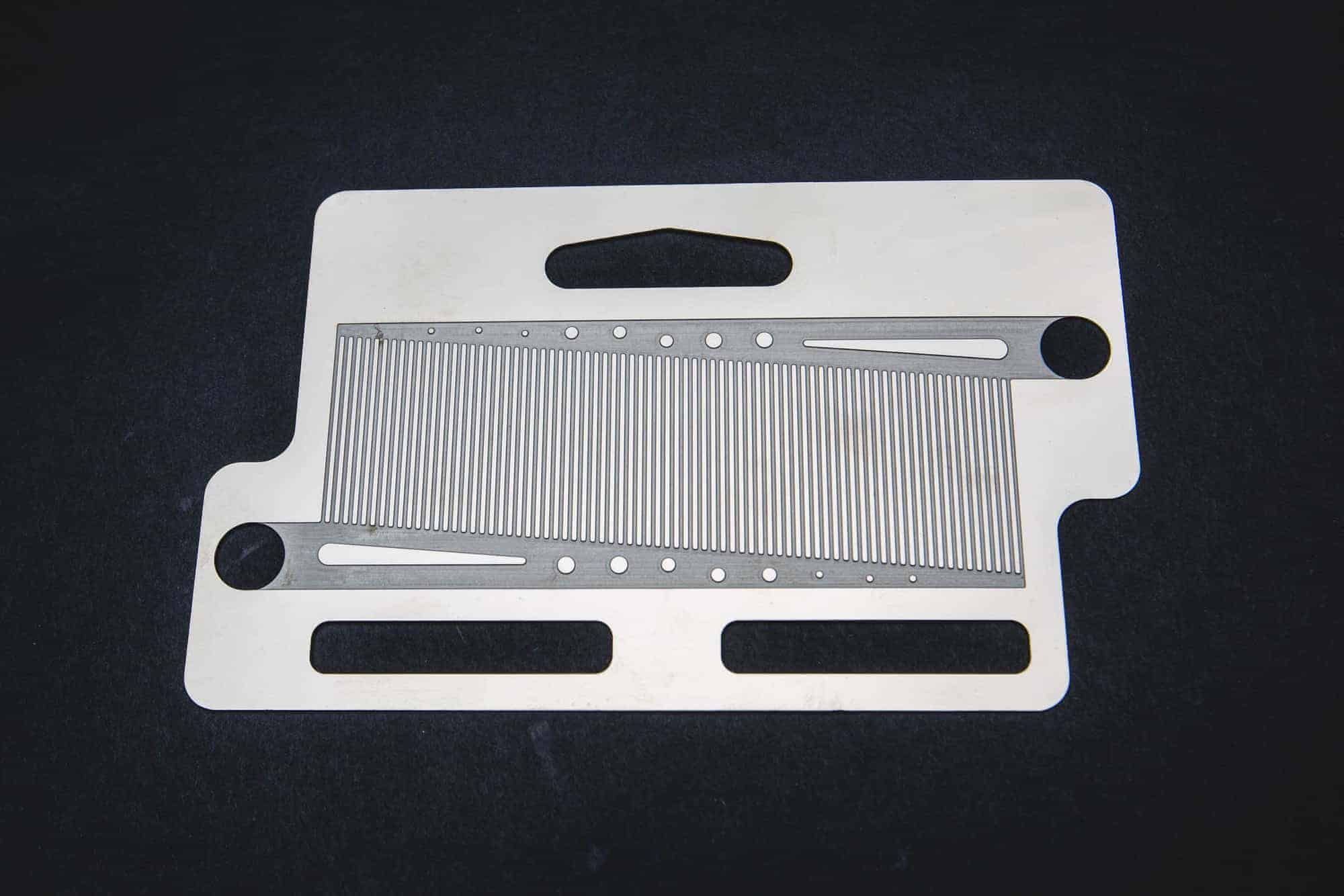 Photo Etched Heat Exchanger Plate
