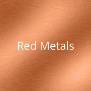 Photo etching metal/red metals