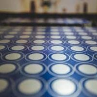 photo chemical etching process: developing
